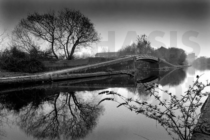 Black & White essay of Edgbaston Reservoir and the surrounding area.
