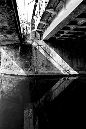 Black & White essay of Edgbaston Reservoir and surrounding area.